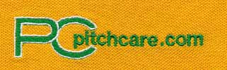 Embroidery of Pitchcare logo